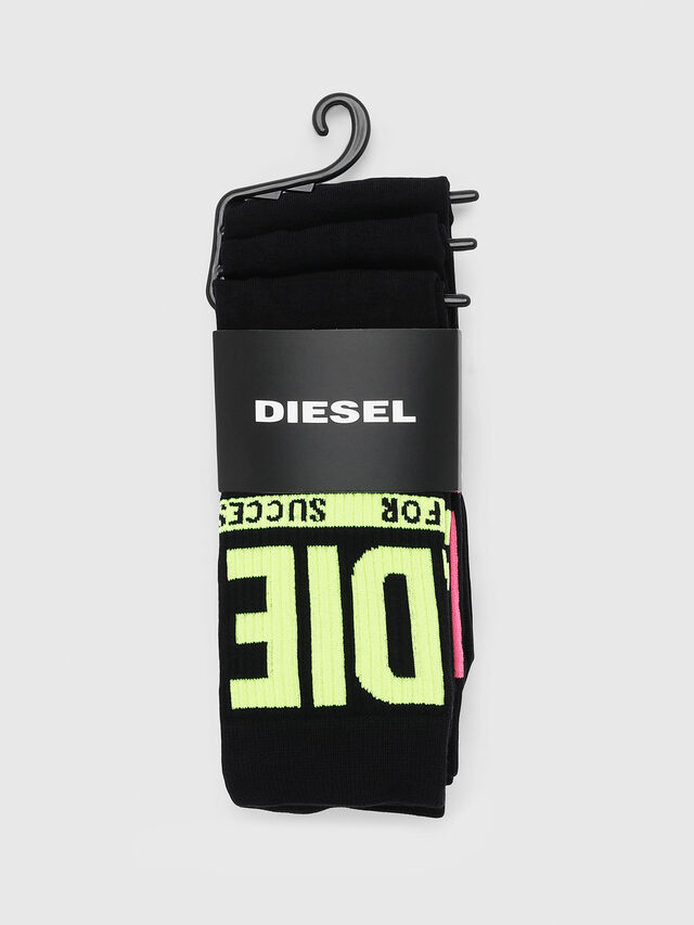 Diesel - SKM-RAY-THREEPACK, Multicolor/Black - Socks - Image 2