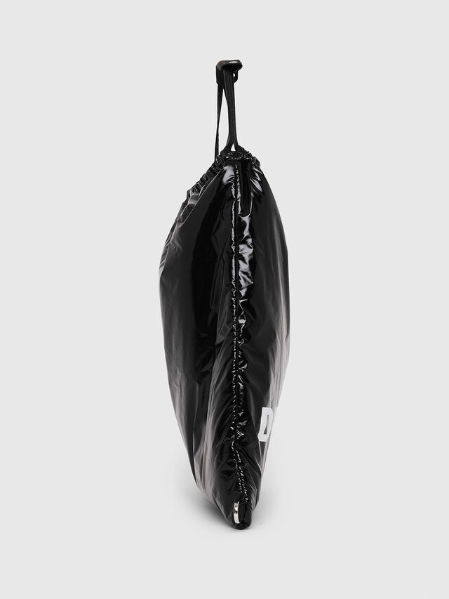 Diesel - F-THISBAG MONO, Black - Backpacks - Image 3