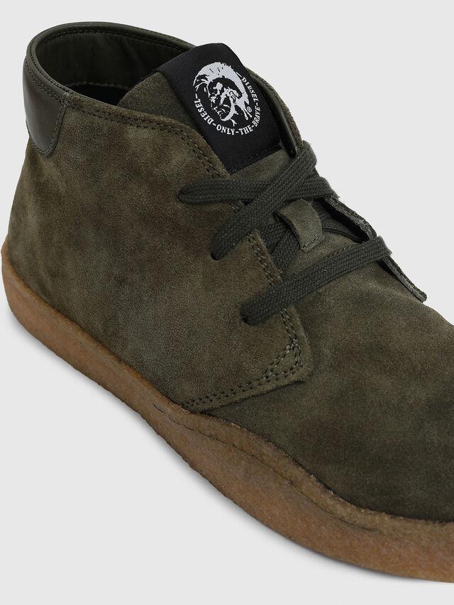 Diesel - H-CLEVER PAR DESERT, Green - Sneakers - Image 4