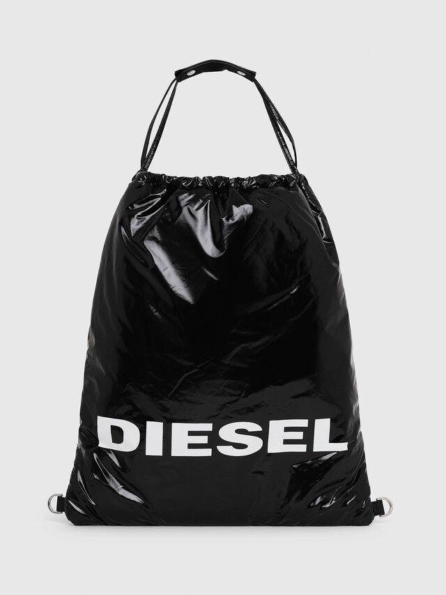 Diesel - F-THISBAG MONO, Black - Backpacks - Image 1