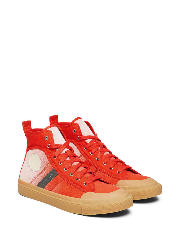 Diesel - GR02 SH32, Red/White - Sneakers - Image 1