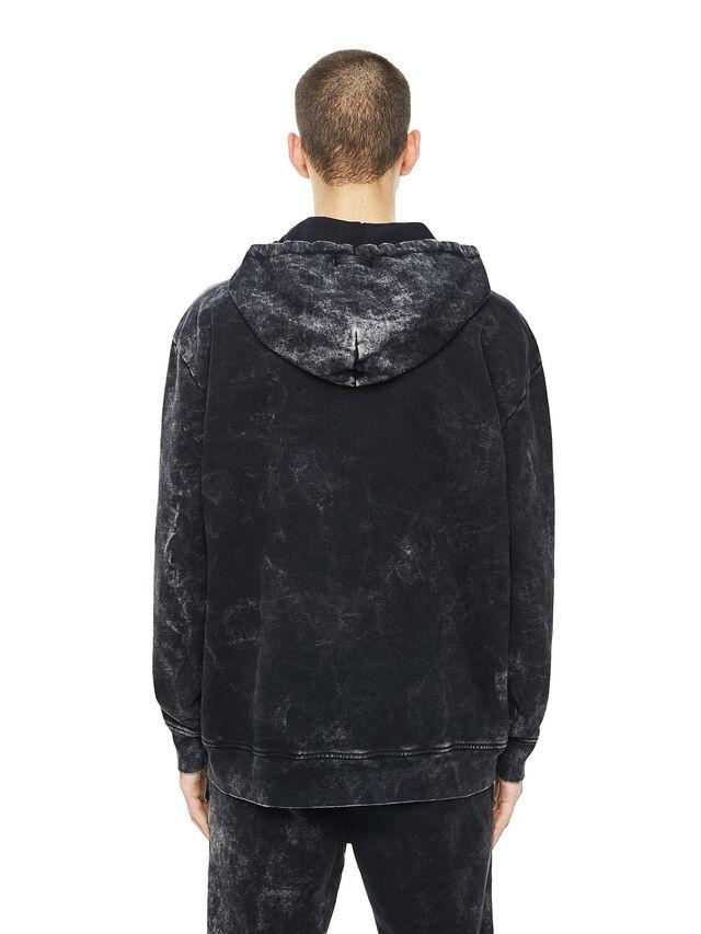 Diesel - FYOVER, Black - Sweatshirts - Image 2