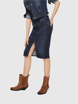 DE-PENCIL,  - Skirts