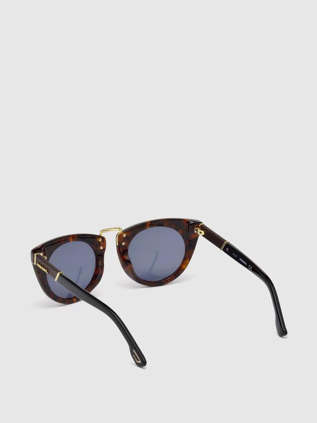 Diesel - DL0211, Brown - Sunglasses - Image 2