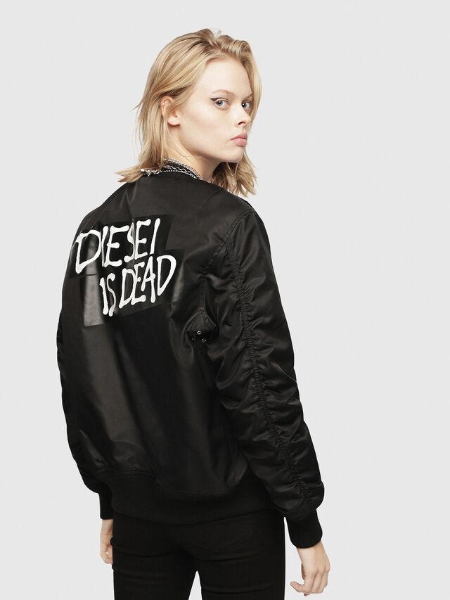 Diesel - HC-J-SOULY-A, Black - Jackets - Image 5