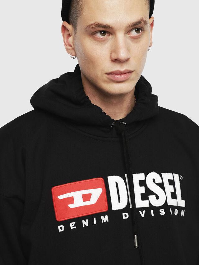 Diesel - S-DIVISION, Black - Sweatshirts - Image 3