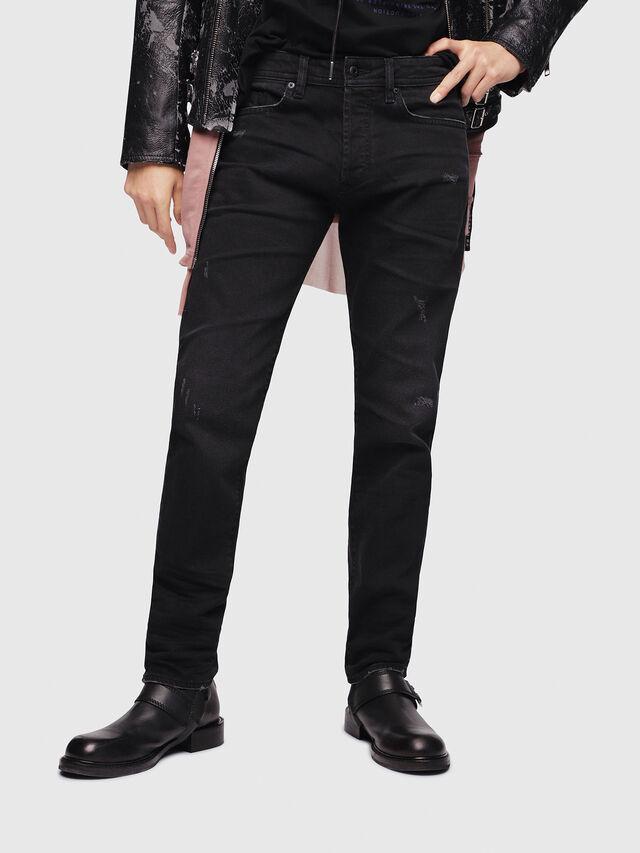 Diesel - Buster C69AC, Black/Dark Grey - Jeans - Image 1