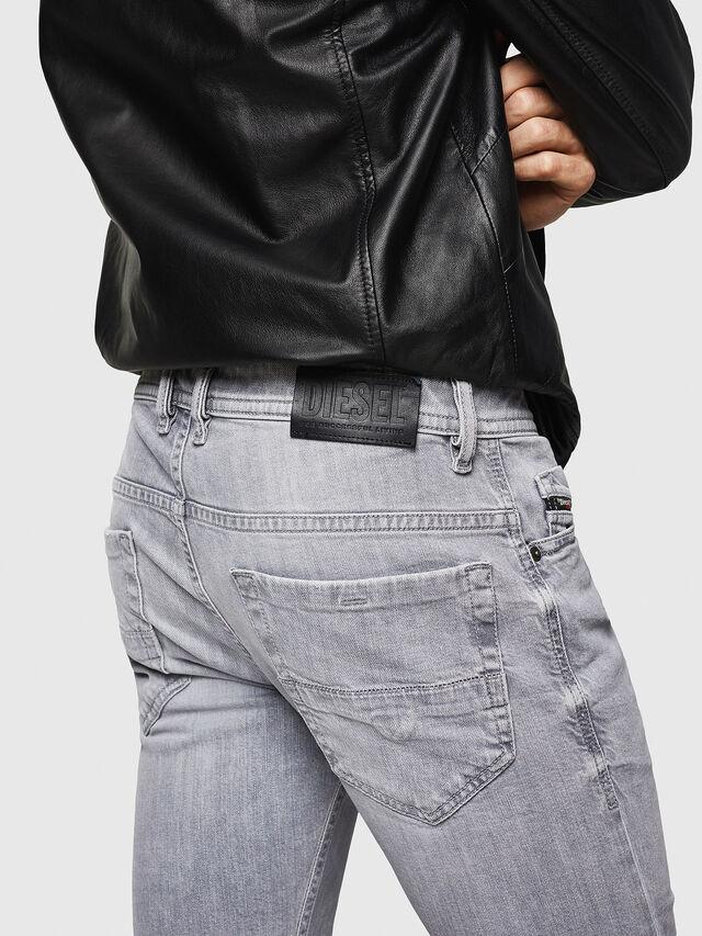 Diesel - Thommer 0890E, Light Grey - Jeans - Image 4