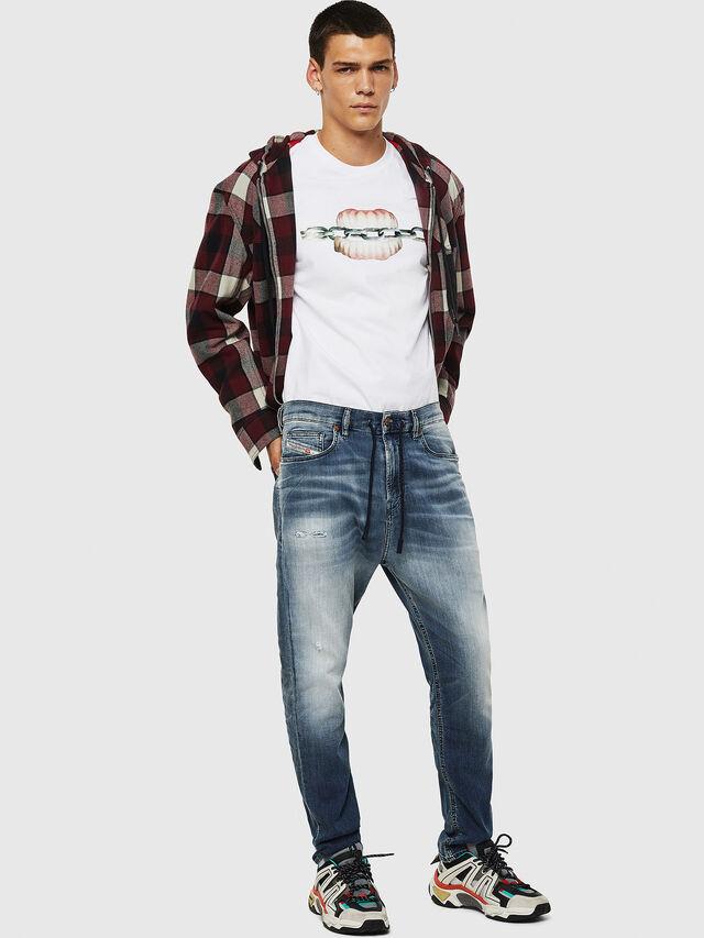 Diesel - D-Vider JoggJeans 069IP, Dark Blue - Jeans - Image 5