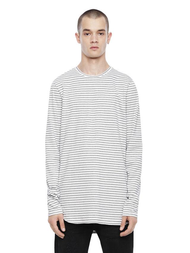 Diesel - TRYGA, Grey - T-Shirts - Image 1