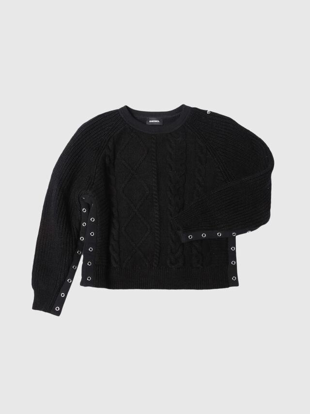 Diesel - KAGIL, Black - Sweaters - Image 1