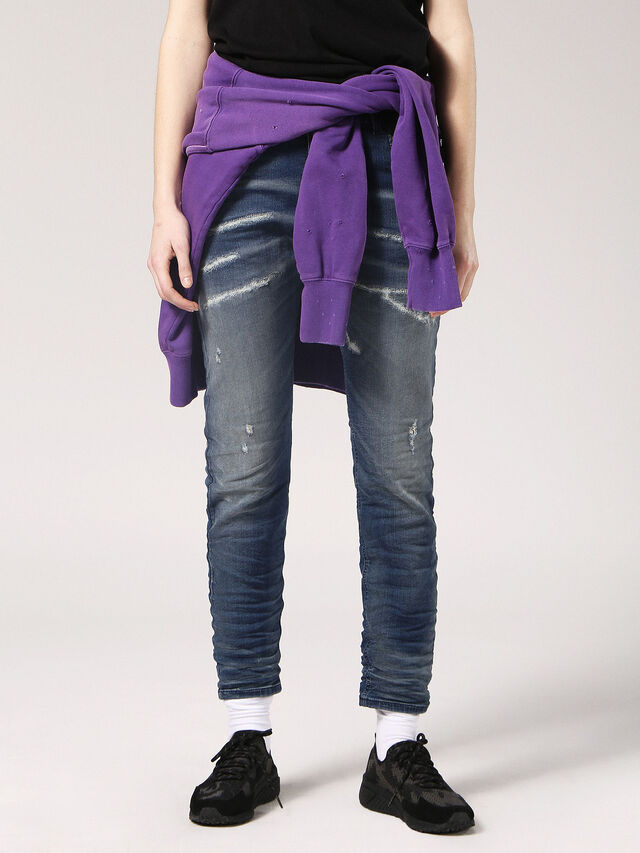 Diesel - Krailey JoggJeans 069CB, Dark Blue - Jeans - Image 1