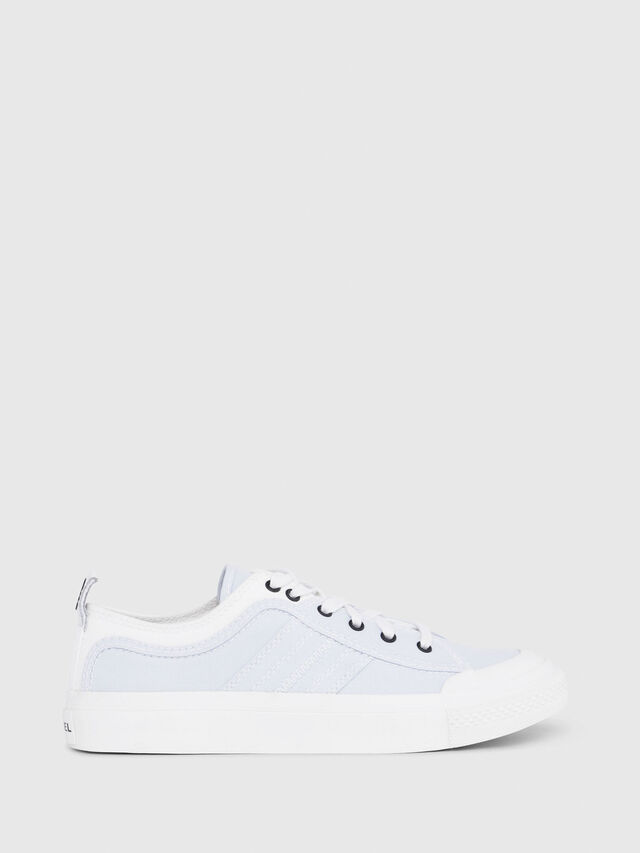 Diesel - S-ASTICO LOW LACE W, White/Blue - Sneakers - Image 1
