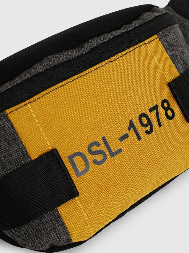 Diesel - FELTRE, Black/Yellow - Belt bags - Image 4