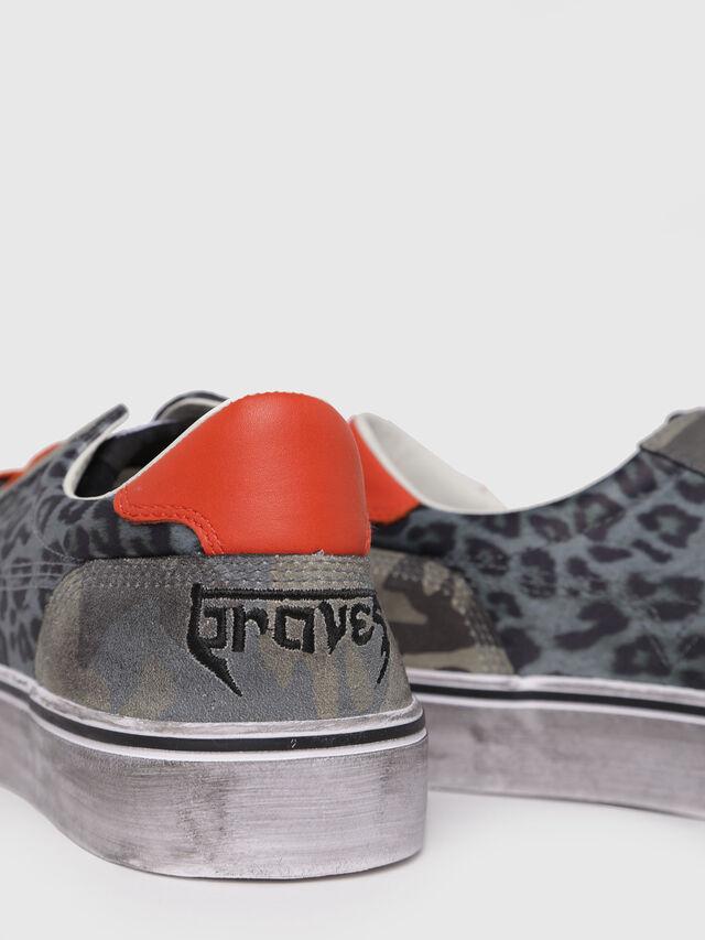 Diesel - S-FLIP LOW, Green - Sneakers - Image 4
