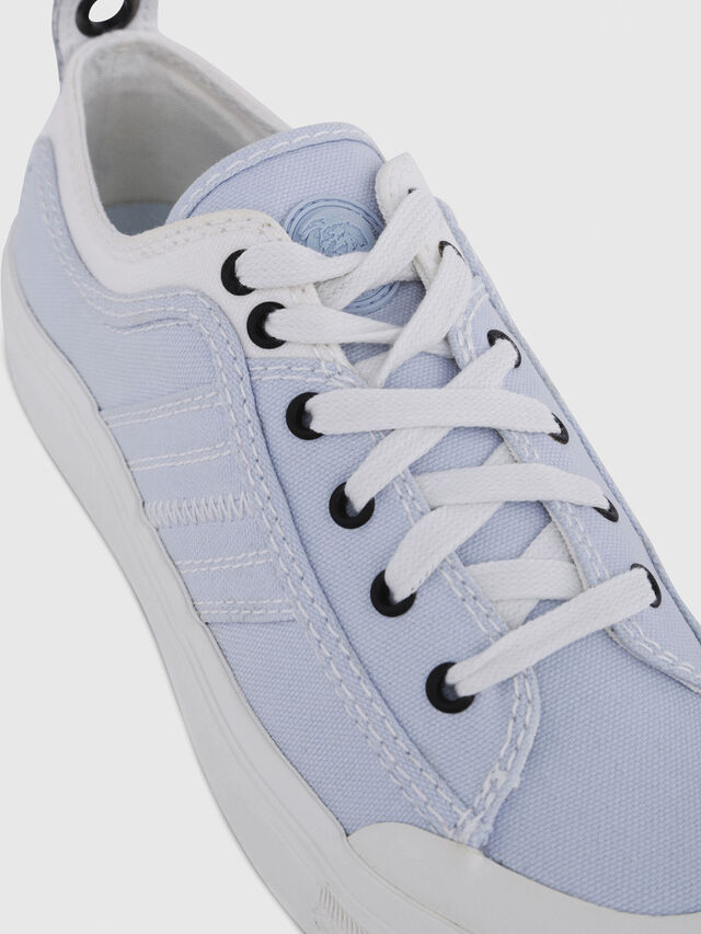 Diesel - S-ASTICO LOW LACE W, White/Blue - Sneakers - Image 4