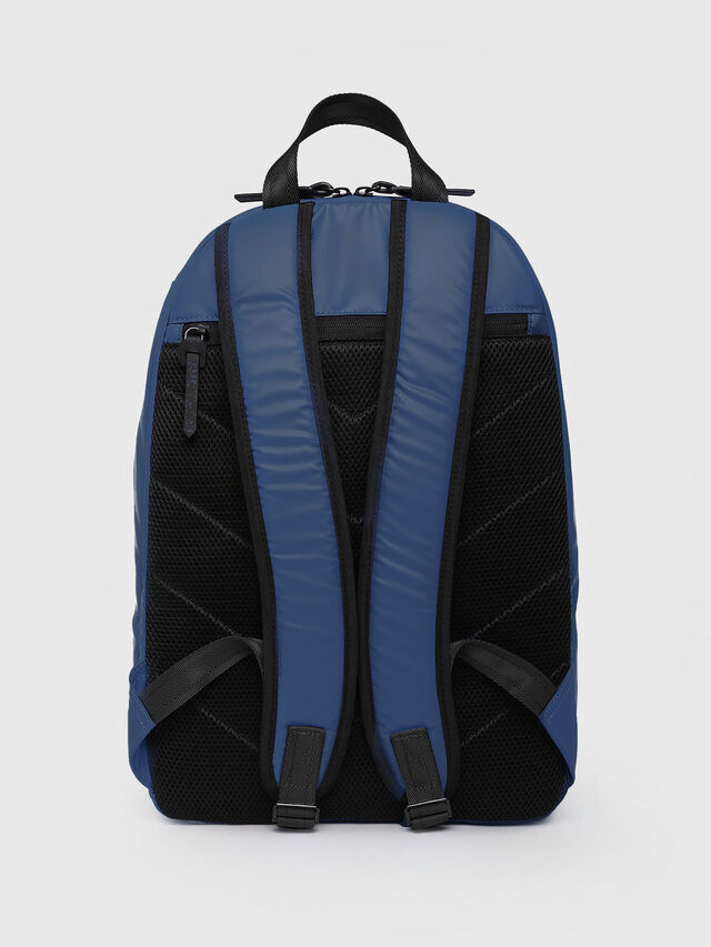 Diesel - F-BOLD BACK, Blue/White - Backpacks - Image 2