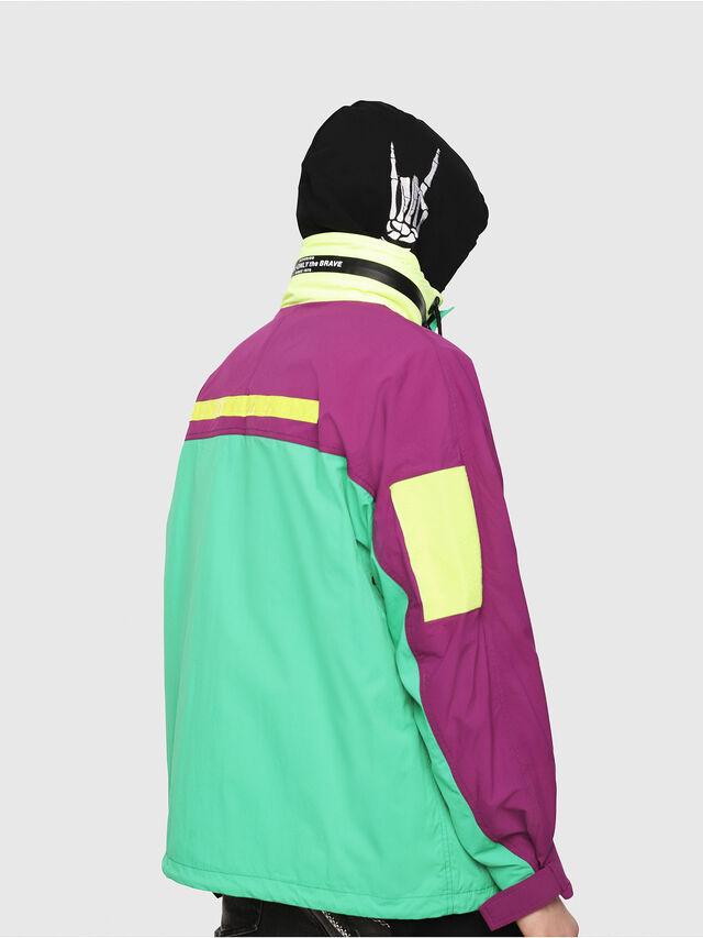 Diesel - J-FUTOSHI, Green Fluo - Jackets - Image 2