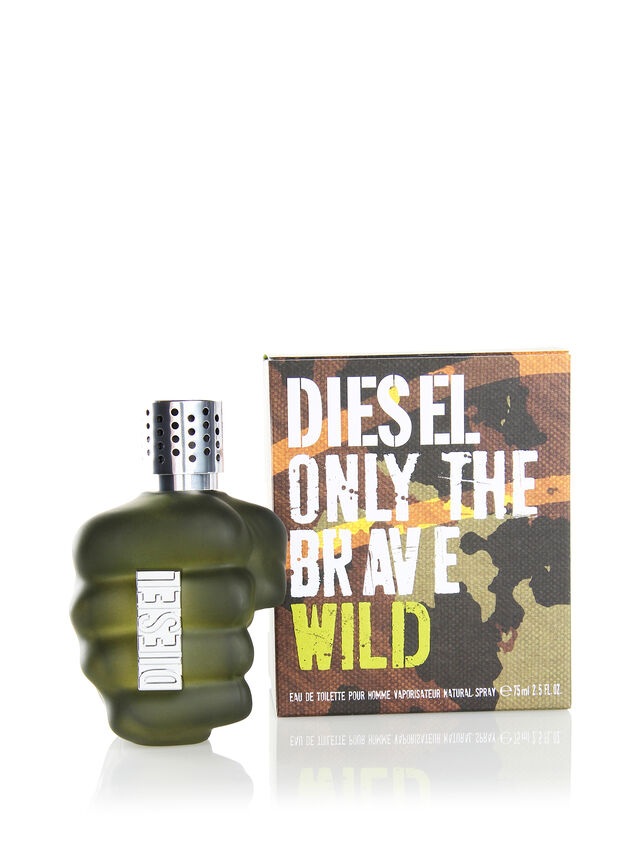 Diesel - ONLY THE BRAVE WILD 75ML, Green - Only The Brave - Image 2