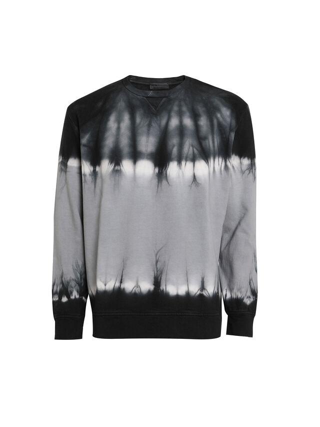 Diesel - FLOXY, Black/White - Sweatshirts - Image 1