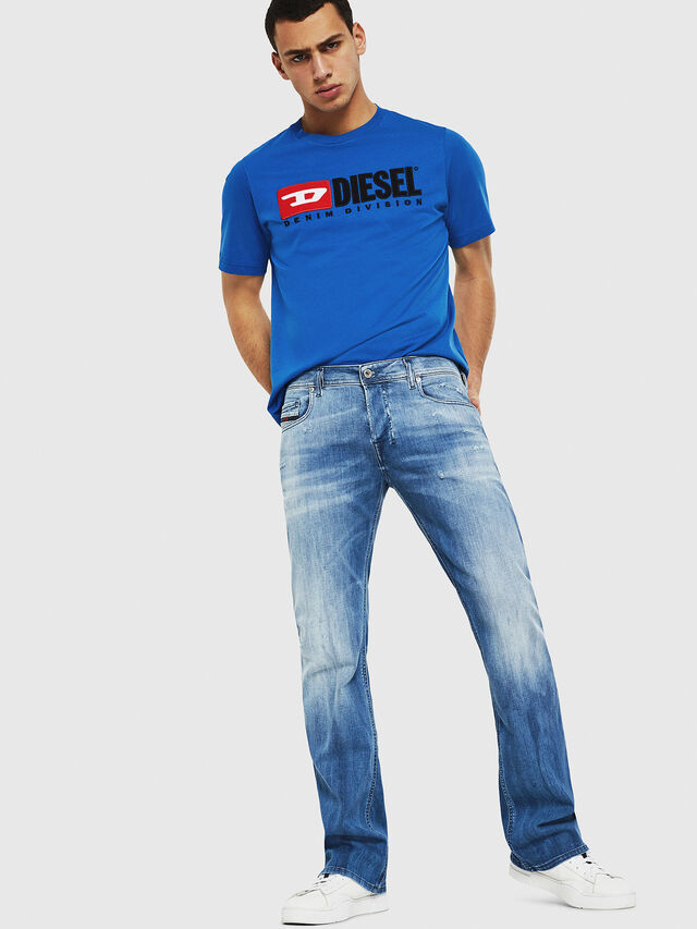 Diesel - Zatiny 081AS, Medium Blue - Jeans - Image 5
