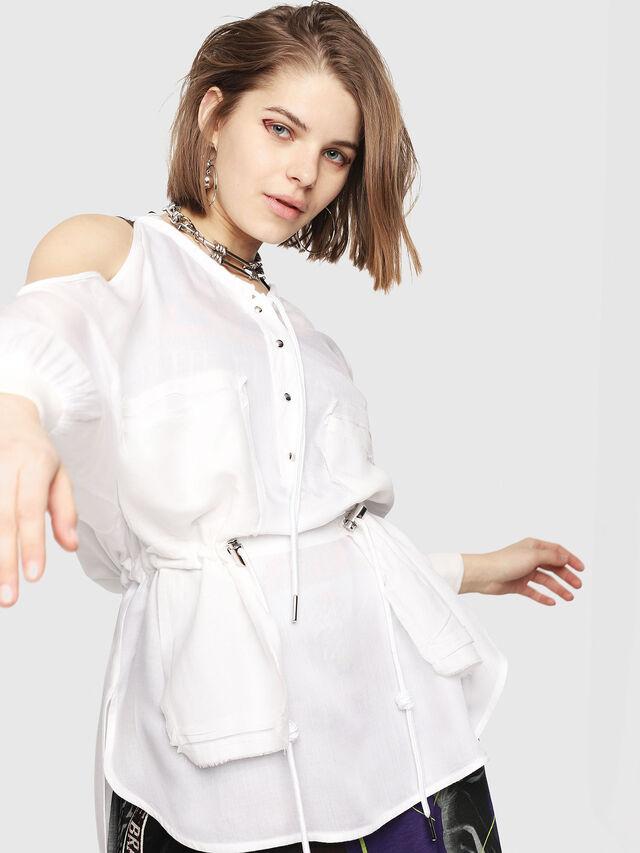 Diesel - C-RYO, White - Shirts - Image 4