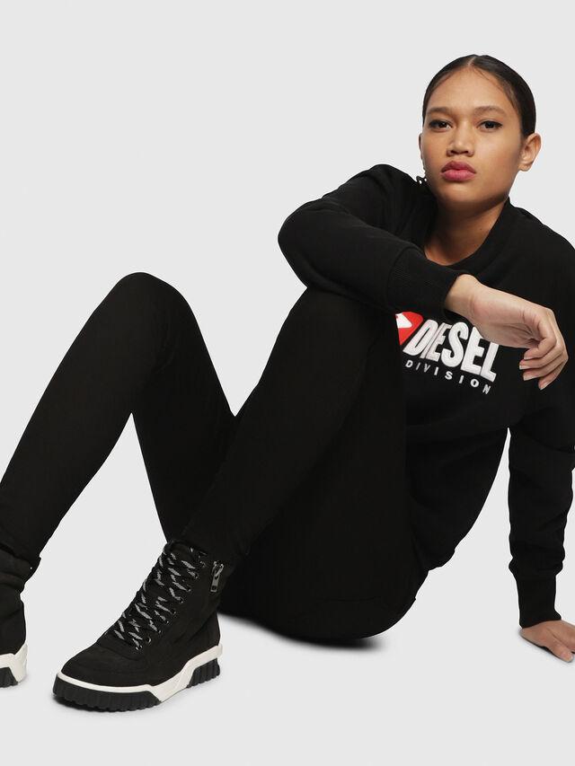 Diesel - S-RUA MC W, Black - Sneakers - Image 5