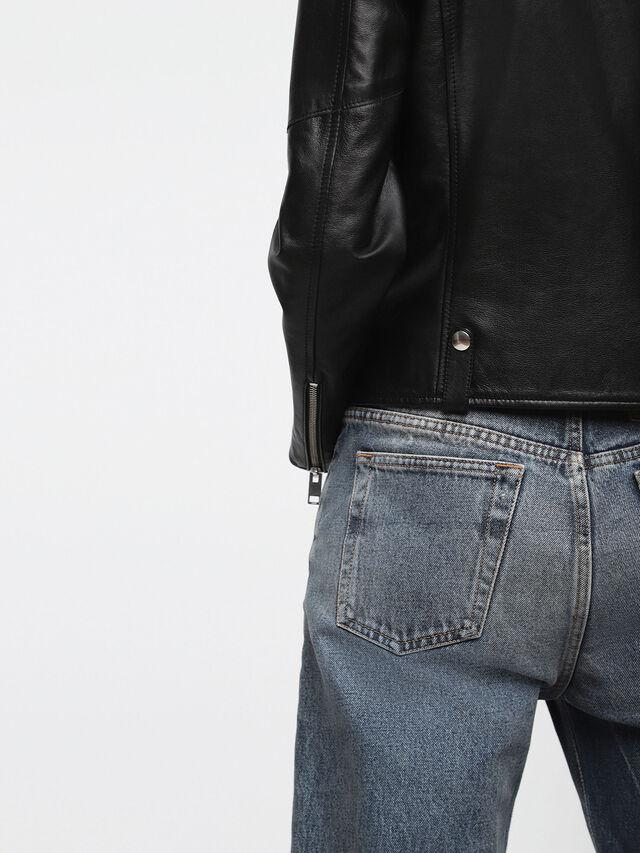 Diesel - L-LYF, Black Leather - Leather jackets - Image 5