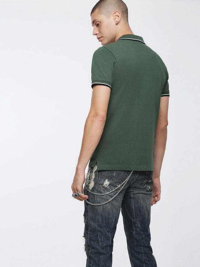 Diesel - T-RANDY-BROKEN, Military Green - Polos - Image 2