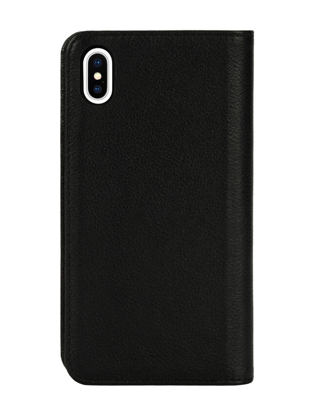 Diesel - DIESEL 2-IN-1 FOLIO CASE FOR IPHONE XS MAX, Black - Flip covers - Image 2