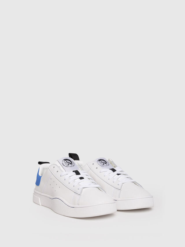 Diesel - S-CLEVER LOW W, White/Blue - Sneakers - Image 2