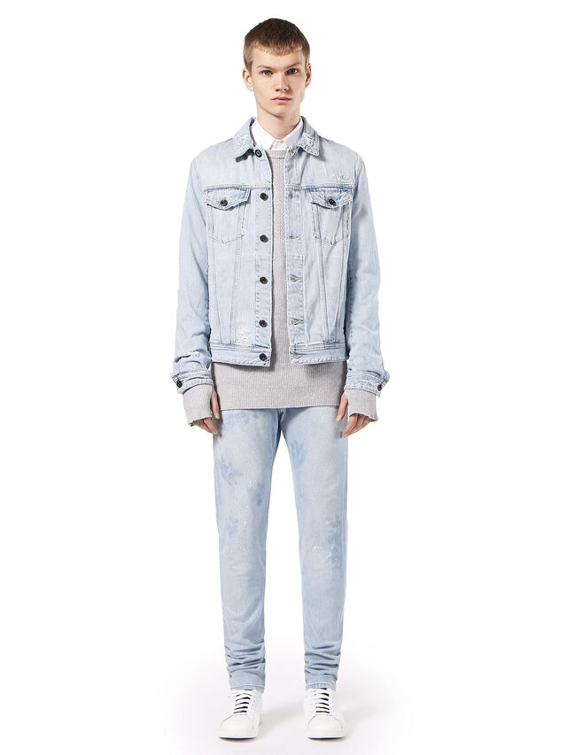 Diesel - JARTE, Light Blue - Jackets - Image 4