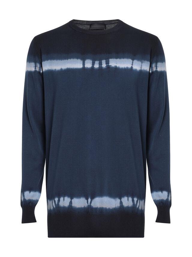 Diesel - KYED, Blue/Black - Sweaters - Image 1