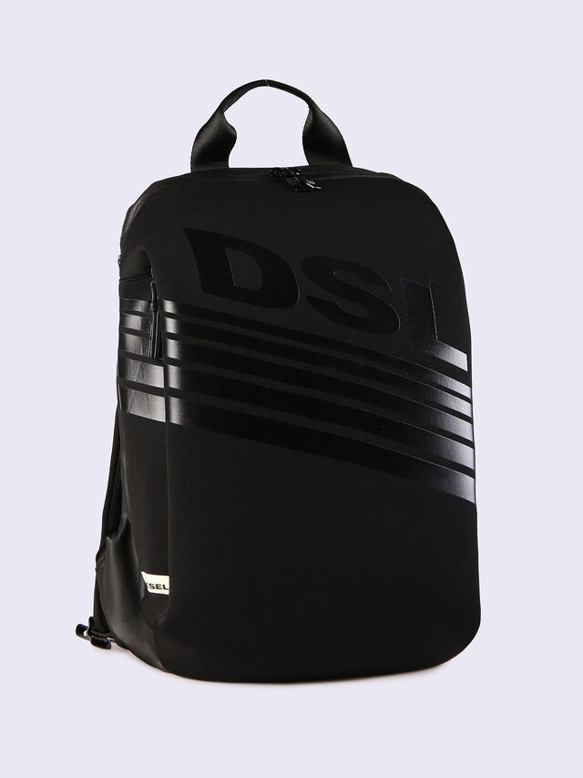 Diesel - F-SUBTORYAL BACK, Black - Backpacks - Image 1