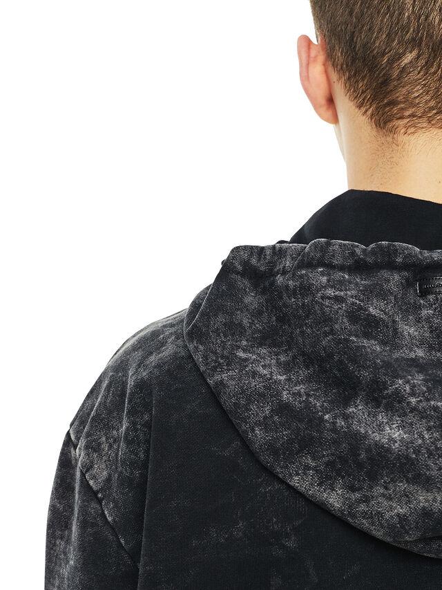 Diesel - FYOVER, Black - Sweatshirts - Image 5