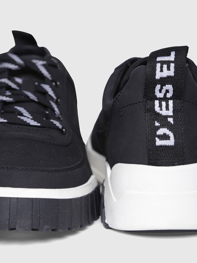 Diesel - S-RUA LC, Black - Sneakers - Image 4