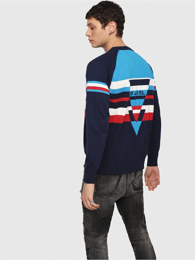 Diesel - K-SHUFF, Blue - Sweaters - Image 2