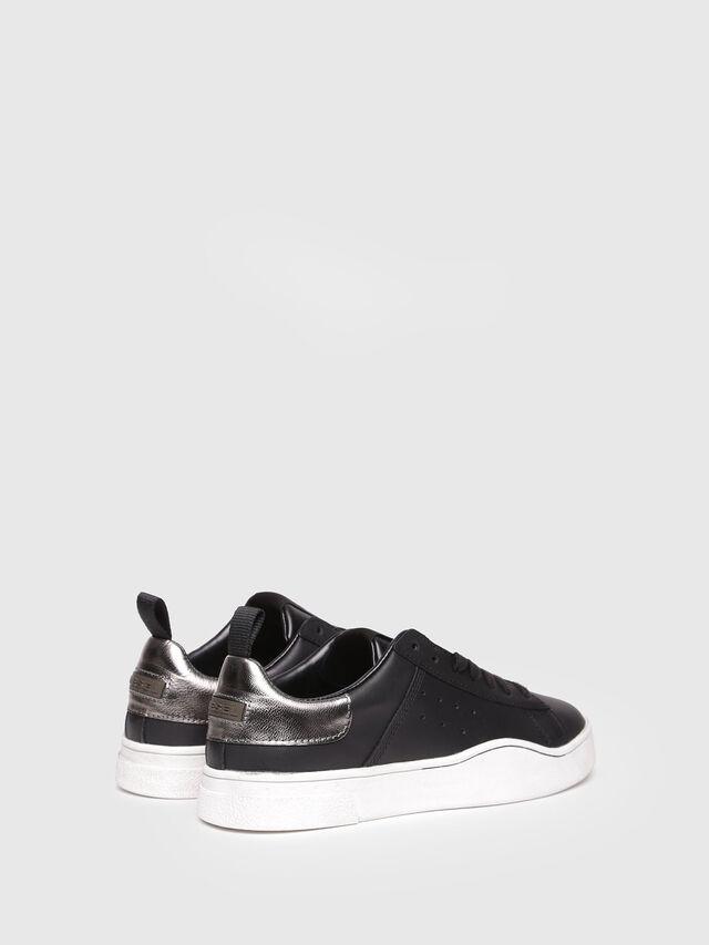 Diesel - S-CLEVER LOW W, Bright Black - Sneakers - Image 3