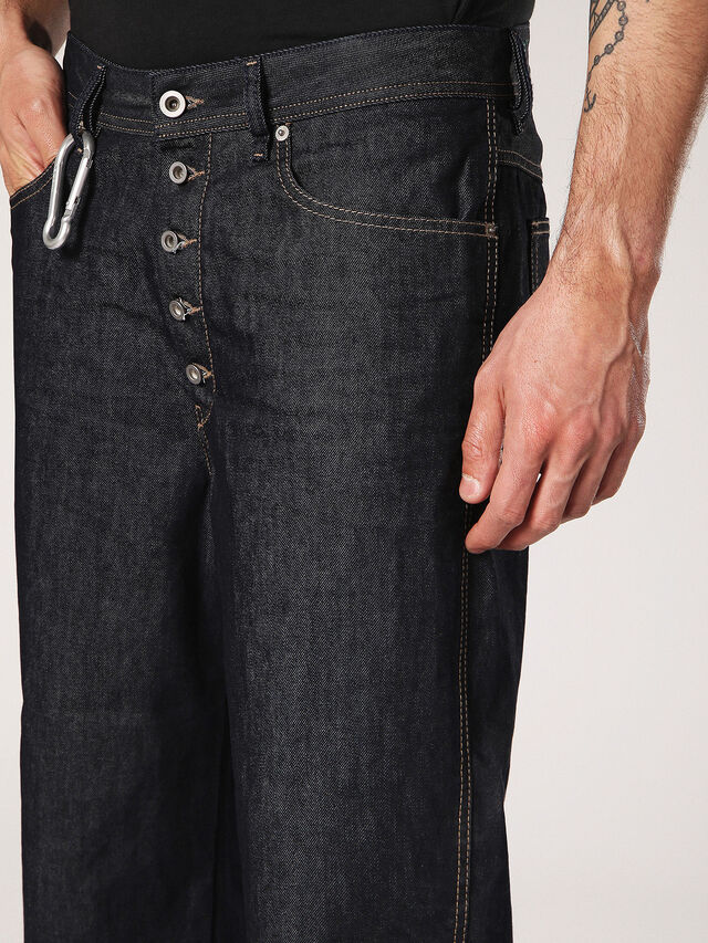 Diesel - Flip 0088Z, Dark Blue - Jeans - Image 7