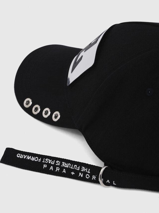 Diesel - C-BULLY, Black - Caps - Image 3