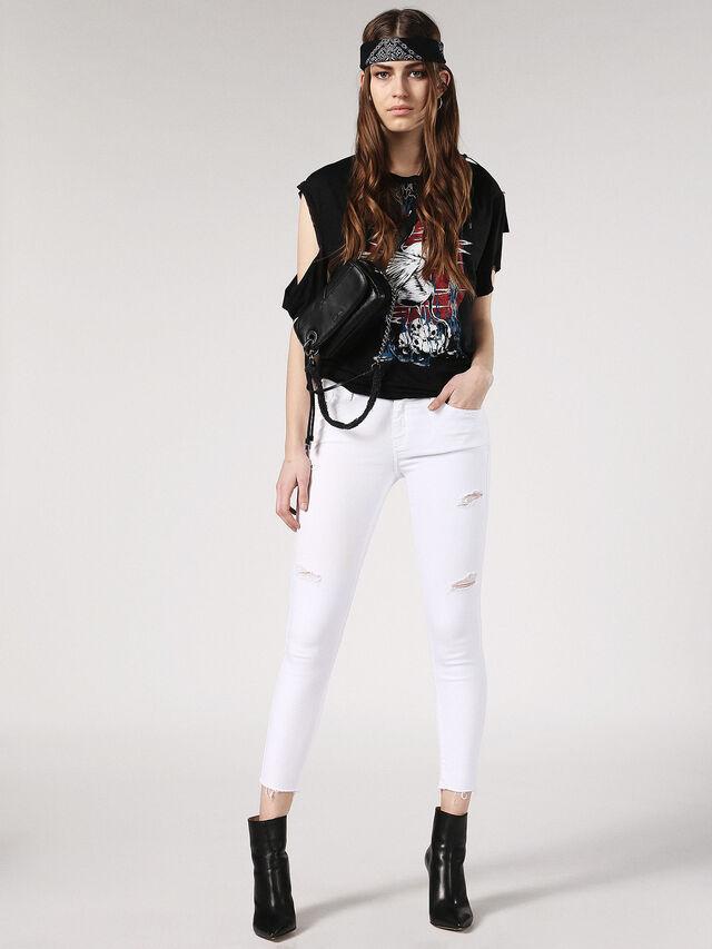 Diesel - Slandy 084EX, White Jeans - Jeans - Image 5