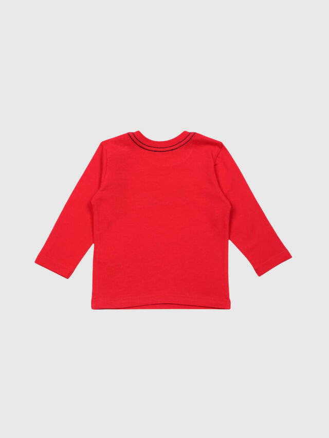 Diesel - TERGYB, Red - T-shirts and Tops - Image 2