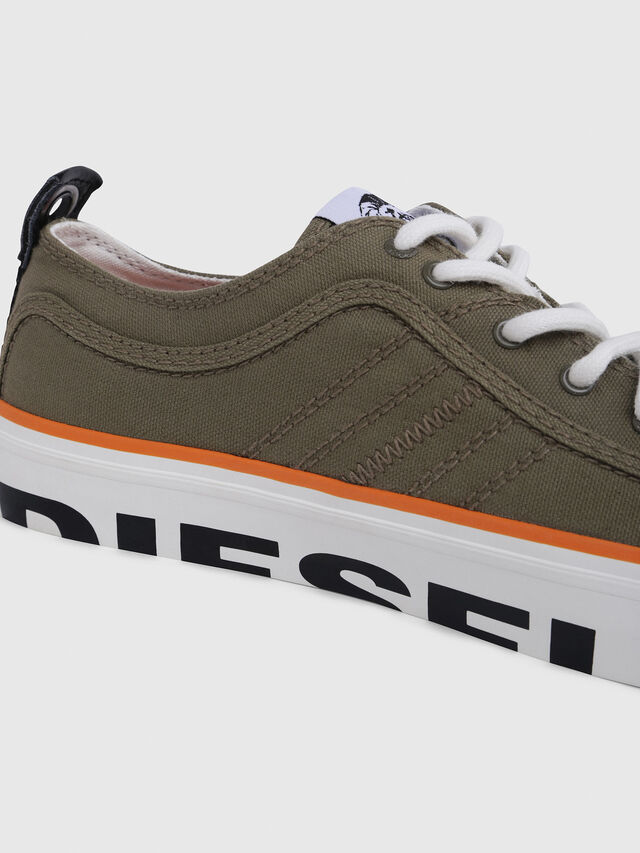 Diesel - S-ASTICO LC LOGO, Military Green - Sneakers - Image 4