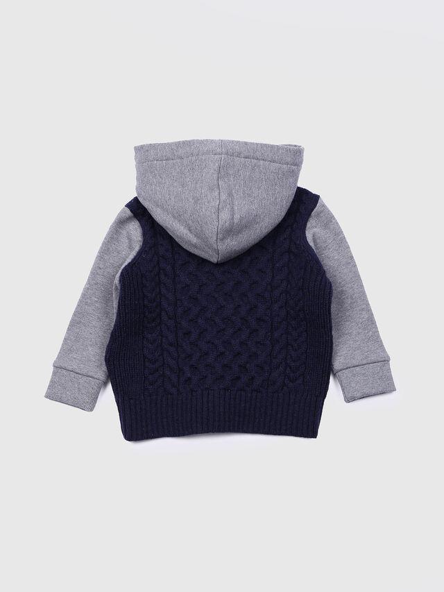 Diesel - KERKEB, Blue/Grey - Sweaters - Image 2