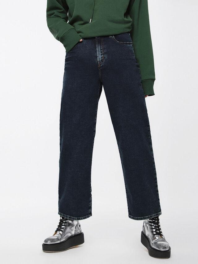Diesel - Widee JoggJeans 069BE, Dark Blue - Jeans - Image 1