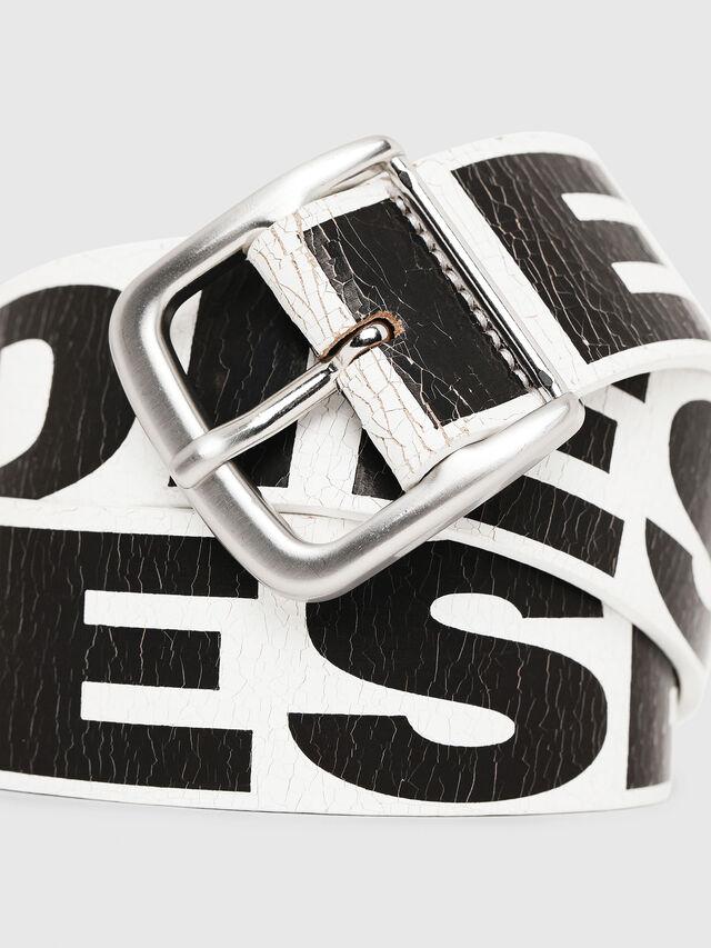 Diesel - B-ARBARANO, White/Black - Belts - Image 2