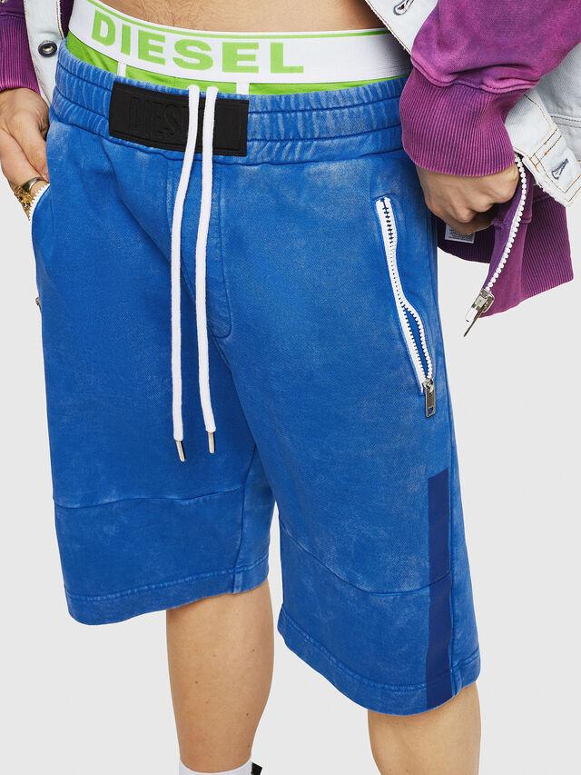 Diesel - P-BIRX, Blue - Shorts - Image 4