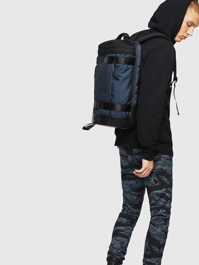 Diesel - PIEVE, Dark Blue - Backpacks - Image 6