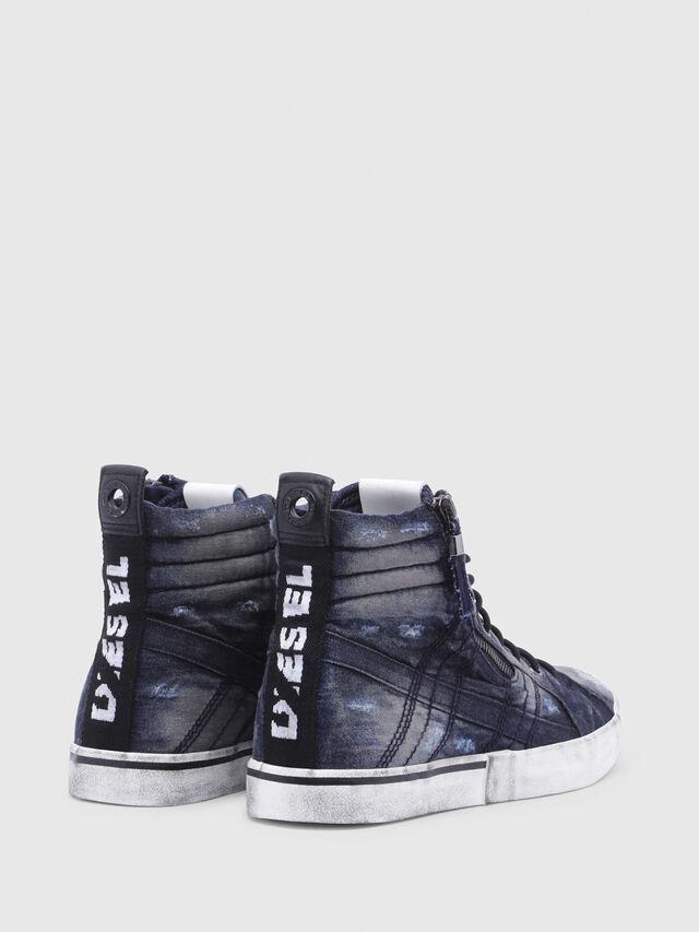 Diesel - D-VELOWS MID LACE, Night Blue - Sneakers - Image 3