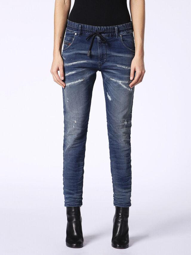 Diesel - Krailey JoggJeans 069CB, Dark Blue - Jeans - Image 2